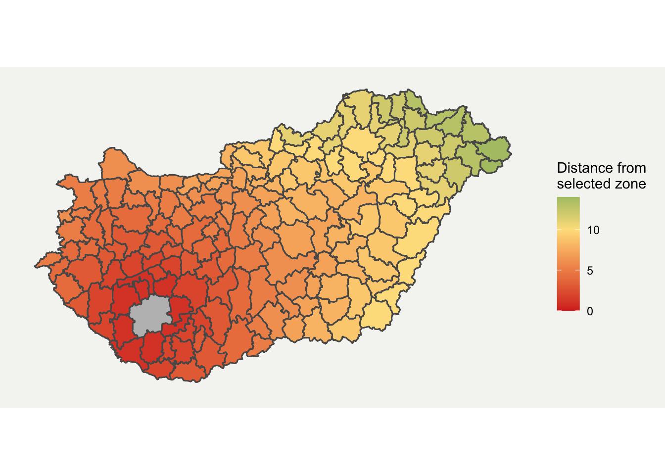 Final Neighbouring Region Map